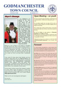 A4 Summer 2013 Newsletter - final 2 Page 1