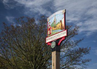 Godmanchester Town Sign