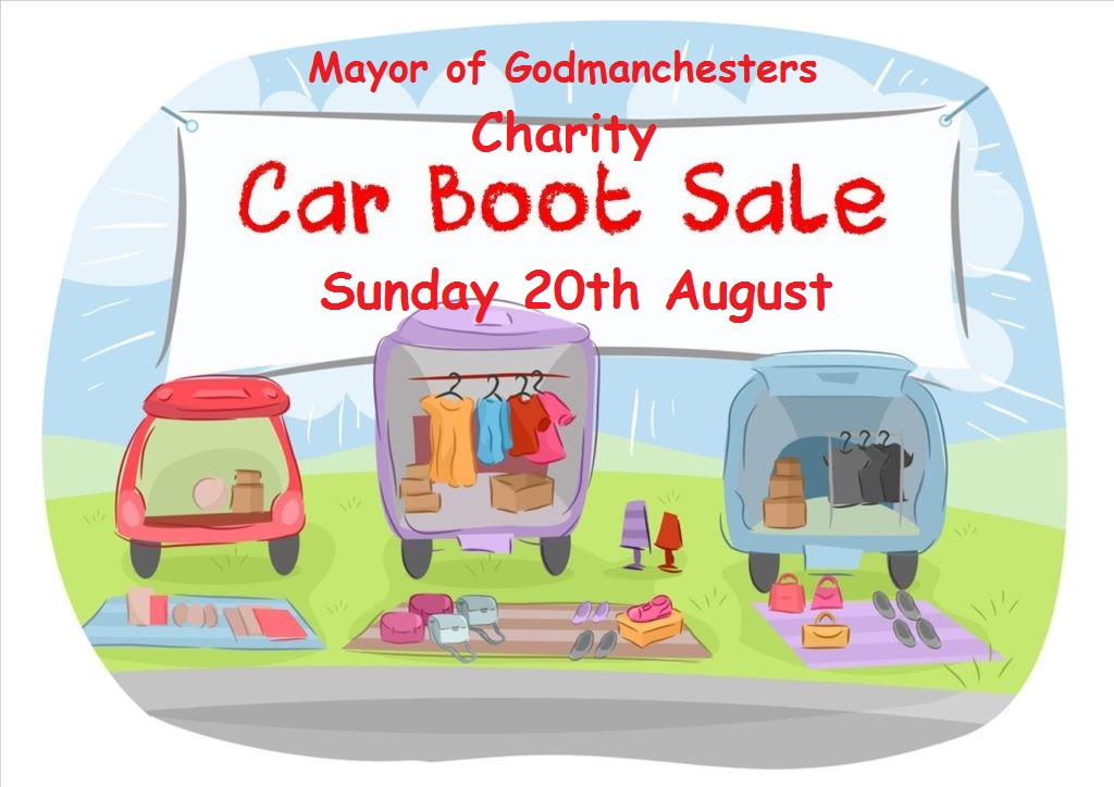 The Mayors Charity Car Boot Sale @ Judiths Field, Godmanchester