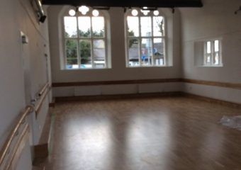 Refurbishment of Queen Elizabeth School Halls