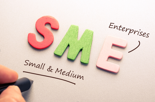 Image of letters reading 'SMEs'