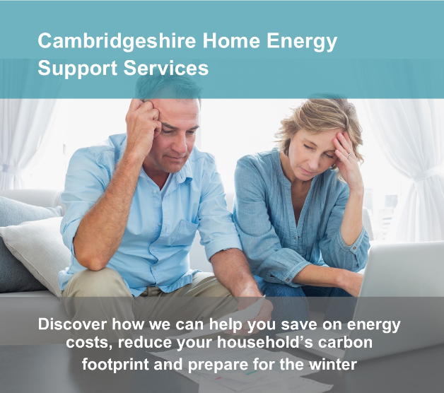 Cambridgeshire Home Energy Support Services Advert
