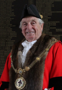 Photo of Mayor of Godmanchester