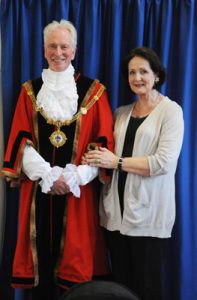 New Mayor and Mayoress