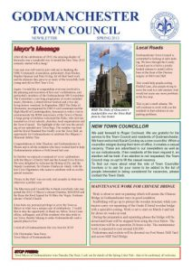 Spring2013Newsletter Page 1
