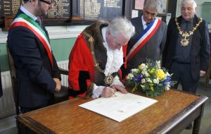 GMC Mayor signing