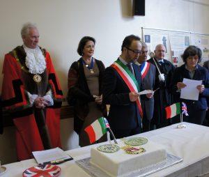 Gubbio Mayor speaks