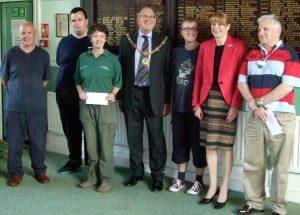 Mayors Charity Donation