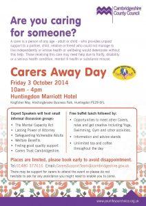 Carers Away Day 2014