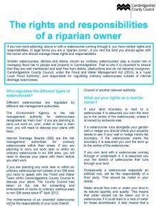 Riparian Owner 1