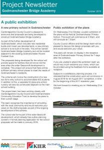 GodmanchesterBridgeAcademyNewsletter