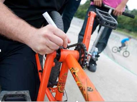 Capture Bike Marking