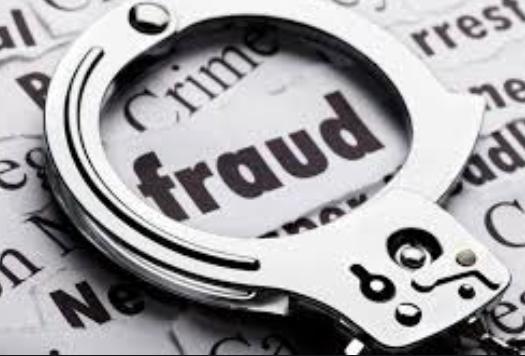 Image reading 'Fraud'