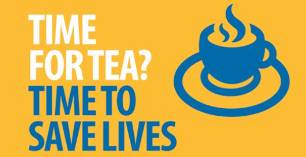 Tea Break NHS logo