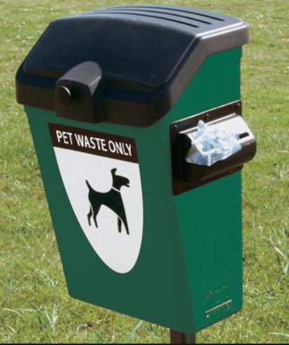 Dog Poo Bin with Bags