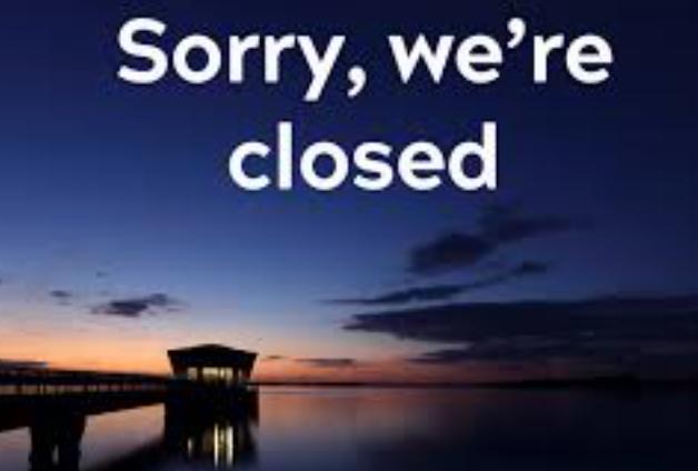 Grafham Water Closed