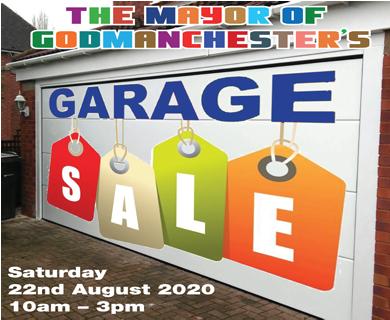 Garage Sale advert with details