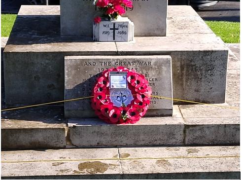War Memorial Wreath Laying