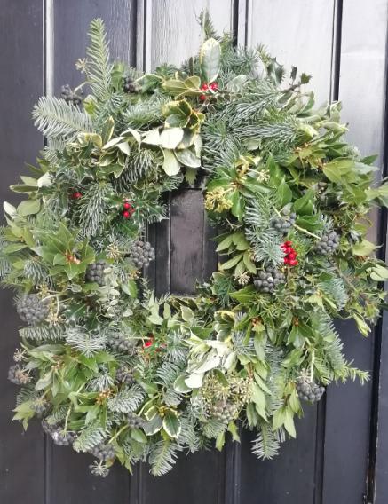 Photo of a Christmas Wreath