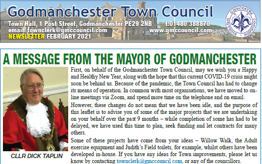 Newsletter Feature Page