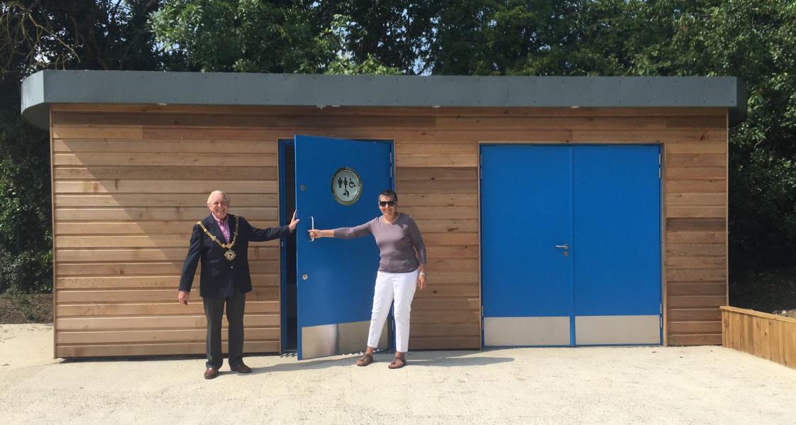 Official Opening Judiths Field Public Toilet JUL